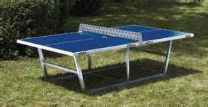 outdoor ping pong tables