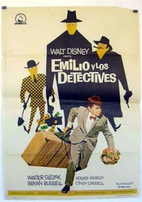 libro emilio y los detectives quot emilio y los detectives quot movie poster quot emil and the detectives quot movie poster