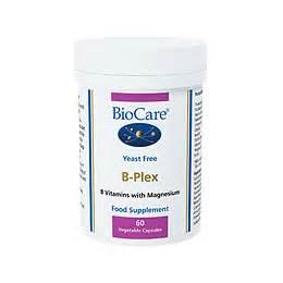 Vitamin San B Plex Biocare B Plex B Vitamins With Magnesium 60 Vegicaps