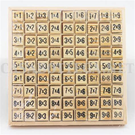 tavola pitagorica cinese 56 migliori immagini tabelline su montessori e