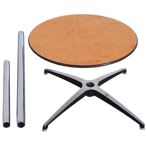 30 quot round pedestal knock down table