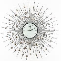 Decorative Wall Clock by Settler Thatcher Iron Peacock Living Room Decorative Wall
