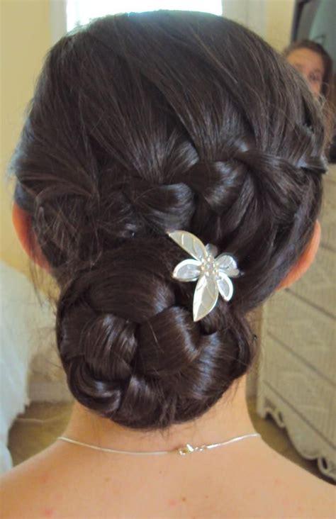 waterfall braid bun 28 diy hairstyles waterfall braid into a braided bun fashion hair