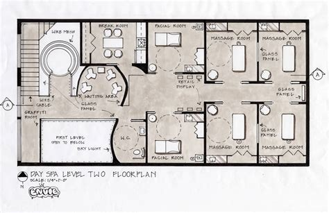 planning a room day spa floor plan interior plann spa floor pinteres