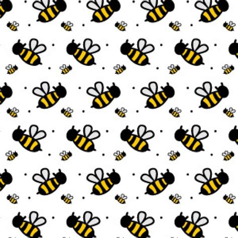 pattern background illustrator free a cute bee seamless illustrator pattern download free