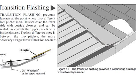 shingle  metal flashing detail fine homebuilding