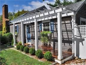 Front Porch With Pergola by Front Porch Pergola Maybe New House Pinterest