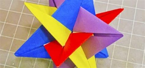 Origami Mathematical Models - math craft monday community submissions plus how to make