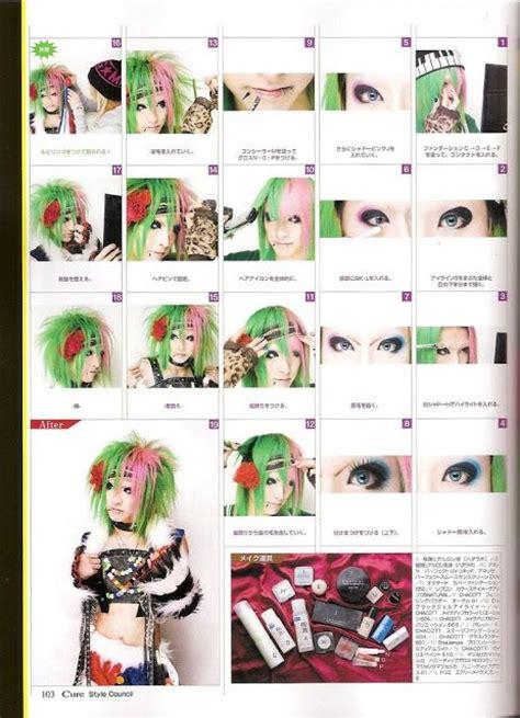 tutorial makeup visual kei 17 best images about visual kei hair on pinterest visual