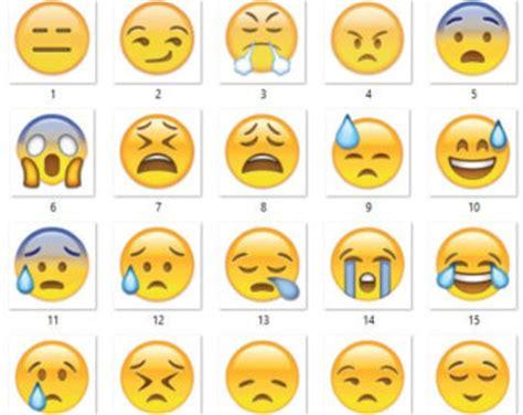 small printable emojis emojicon etsy