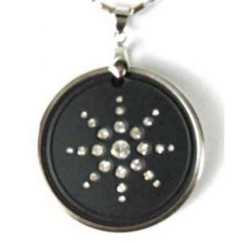 quantum science scalar energy diomand pendant with ring