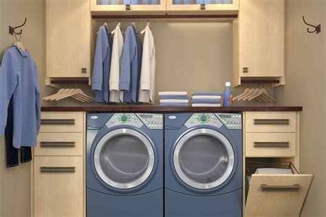 laundry design storage 10 stellar laundry room designs by closet factory