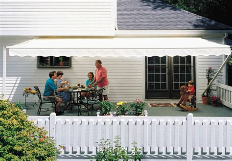 sunsetter retractable awning 14 ft sunsetter 1000xt retractable awning outdoor deck