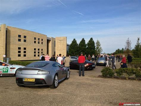 aston martin headquarters pistonheads sunday service at aston martin gaydon headquarters