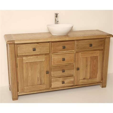 rustic bathroom vanity units ohio large rustic oak bathroom vanity unit best price