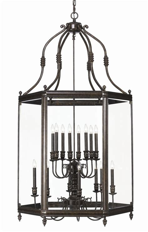 Large Chandeliers For Foyers Large Scale Foyer Lantern 24 Quot W X 46 Quot H 6 3 X 60w 2590 35 Quot W X 67 Quot H 8 8 X 60w 5000 Shown
