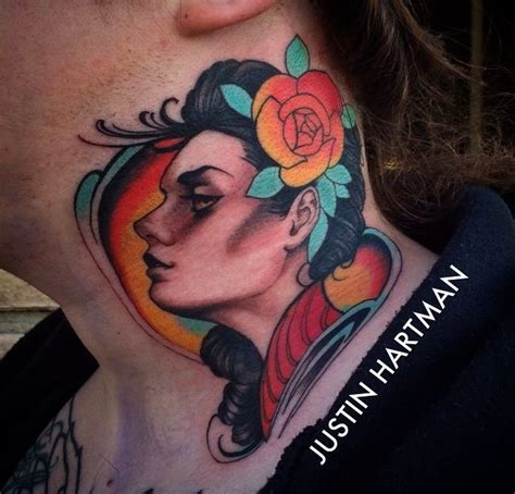 Tattoo Flash Neck | 118 best images about throat tattoos on pinterest tattoo