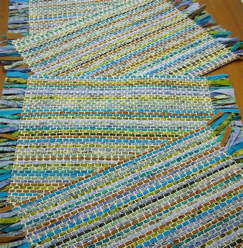 Fabric Place Mats by Fabric Fascination Rustic Handwoven Placemats