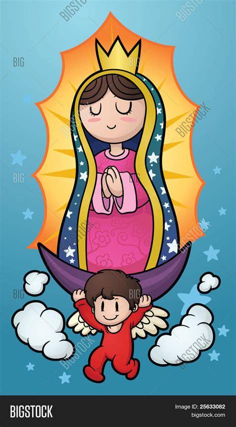 imagenes de la virgen de guadalupe animadas para facebook vectores y fotos en stock de ilustraci 243 n de dibujos