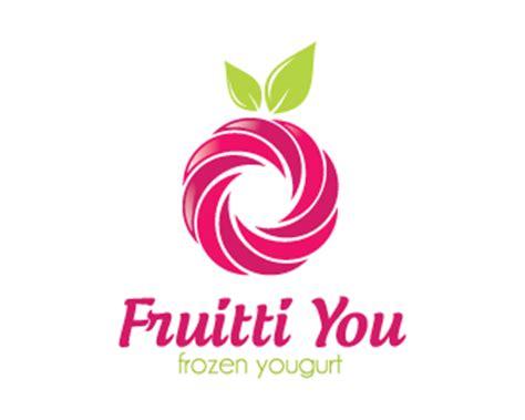 fruit frozen yogurt designed  dalia brandcrowd