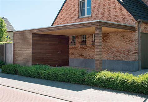 moderne carport moderne carports livinlodge houten bijgebouwen