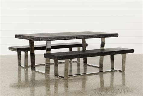 living spaces dining table bench decorative table decoration