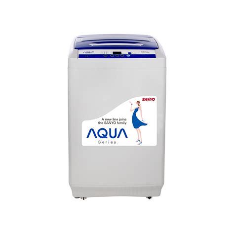 Mesin Cuci Satu Tabung aqua 89xtf mesin cuci otomatis satu tabung top loading 8kg