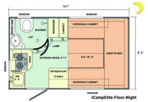 Dutchmen Rv Floor Plans by Icamp Elite Motorcycle Review And Galleries