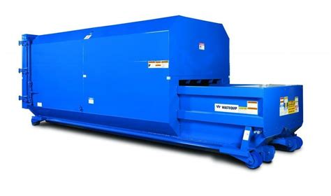 used trash compactor national equipment solutions self contained compactors