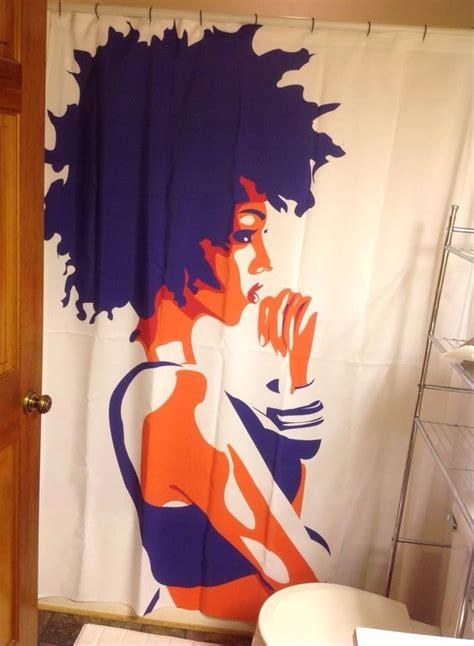 hair curtains most beautiful shower curtain ever natural hair