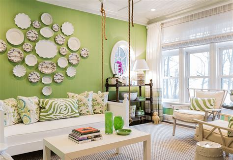 green livingroom green living room ideas