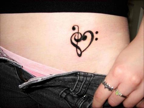 small music tattoos for girls small meaning pictures tattooing