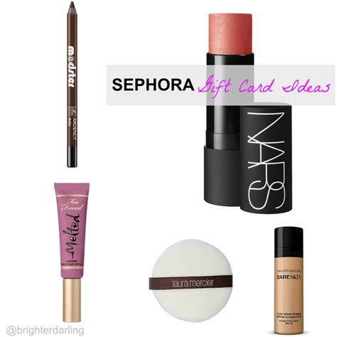 Sephora Gift Cards - sephora gift card ideas 2014 gifts for the beauty lover