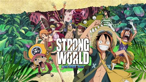 one piece film x strong world one piece strong world review youtube