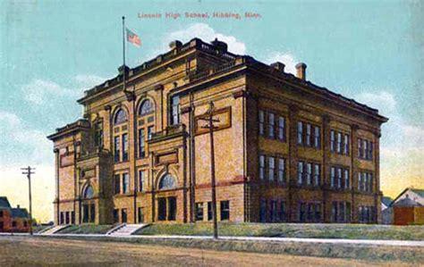 lincoln high school mn hibbing minnesota city guide