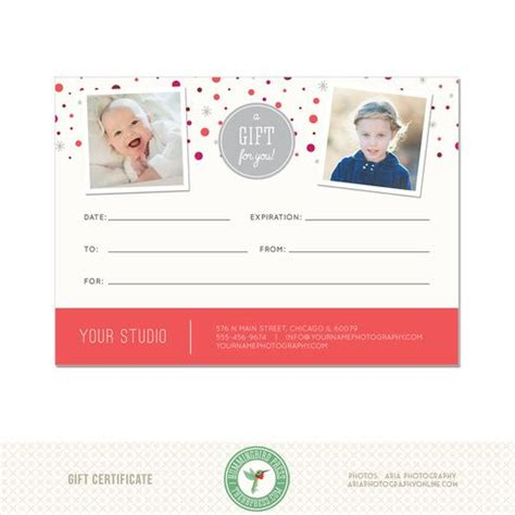 e gift card electronic certificate template 5x7 digital or print gift certificate template gc1