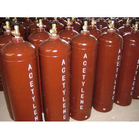 dissolved acetylene cylinder dissolved acetylene cylinder capacity hp for welding rs 364 kilogram id 16200576262