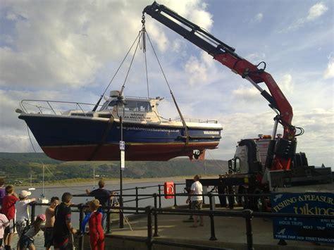 fishing boat hire north wales hiab crane hire lorry loader crane jimmybigcrane boat