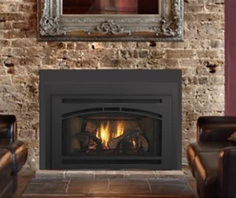 quadra gas fireplace insert w affinity front nw