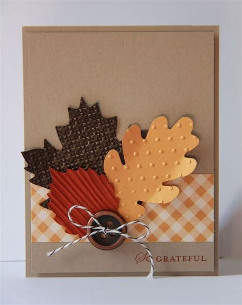 easy thanksgiving cards to make 25 unique autumn cards ideas on thanksgiving