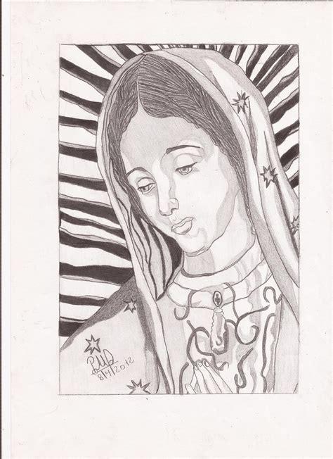 imagenes para dibujar a la virgen de guadalupe dibujo virgen guadalupe imagui
