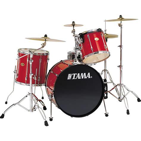 Drum White No Brand 18 tama rockstar 4 rock drum set snow white music123