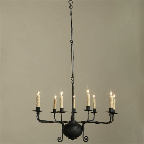 kronleuchter eisen antik antique wrought iron chandelier at 1stdibs