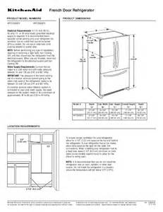 kitchen appliance dimensions kitchen aid appliance specifications kitchen design photos