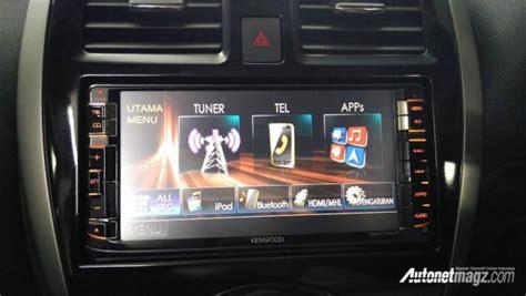 Lu Sentuh Dengan Speaker Smart Touch L Speaker nissan march facelift meluncur ganti unit harga naik 7 juta