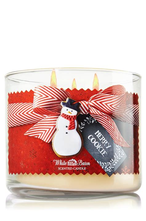 merry bathtub merry cookie 3 wick candle home fragrance 1037181 bath
