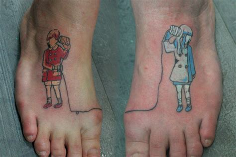 romantic matching tattoos couples these matching designs are utterly cool and