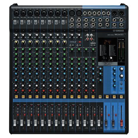 Mixer Yamaha Mg Series yamaha mg 16xu 171 mixer