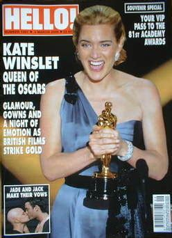 Kate In Magazine I Am A Bit Wacky by Hello Magazine Kate Winslet Cover 3 March 2009 Issue