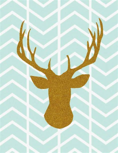 free printable wall art deer free printable animal silhouettes sugar bee crafts